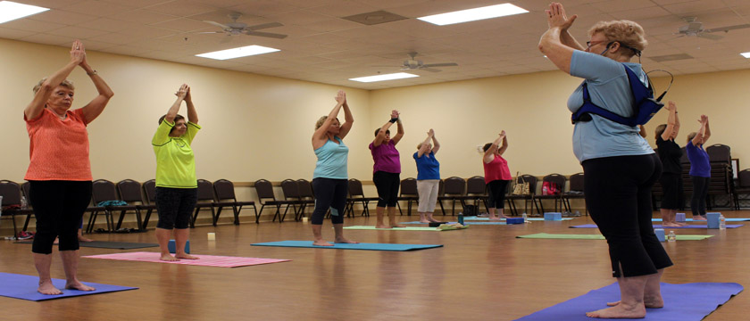 Social Activities, Social, Active Adult, Retirement, Fitness, Yoga