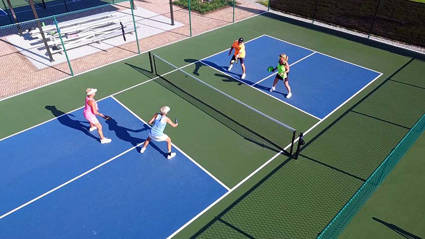 Pickleball Play