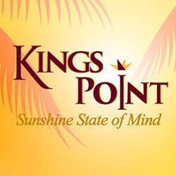 Kings Point Suncoast is an Exclusive Active 55 + Adult Community Located in West Central Florida just 20 Miles South of Tampa on the Sunshine Coast.