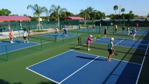 Pickleball Kings Point Sun City FL